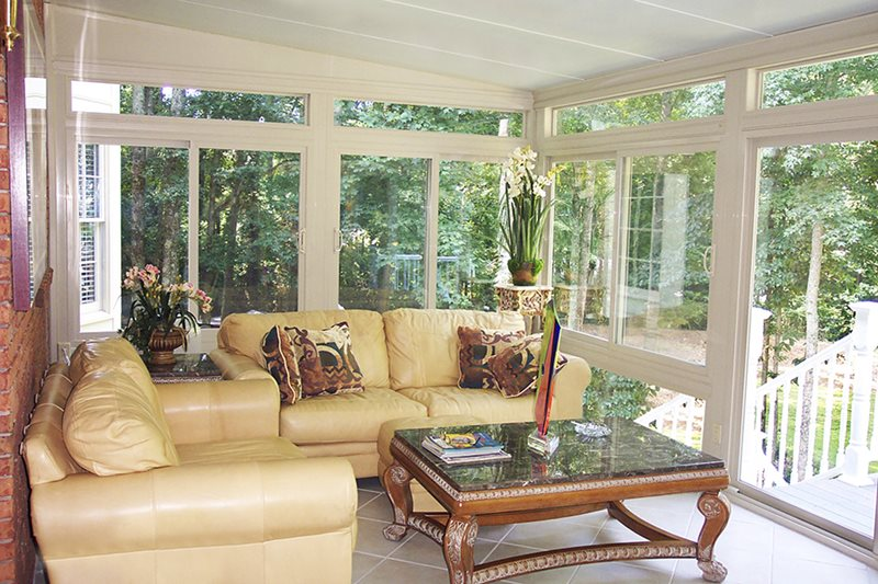 Betterliving sunrooms patio rooms care free homes inc Four season rooms