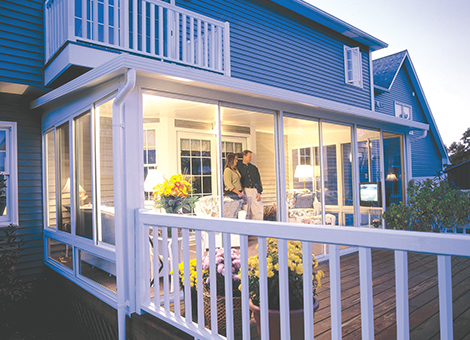 Betterliving sunrooms patio rooms care free homes inc for Three seasons room