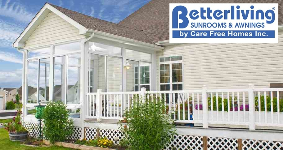 Betterliving Sunrooms Patio Rooms Care Free Homes Inc Gorgeous Better Living Patio Rooms