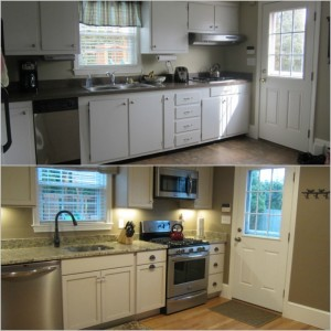 kitchen remodel, Fairhaven, MA