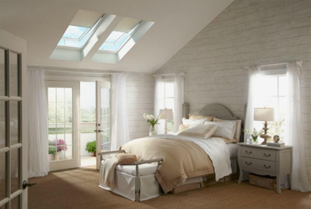 We are a Certified VELUX 3-Star Skylight Installer!