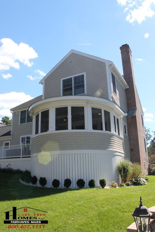 Custom Designed Enclosed Circular Porch Contractor Cape