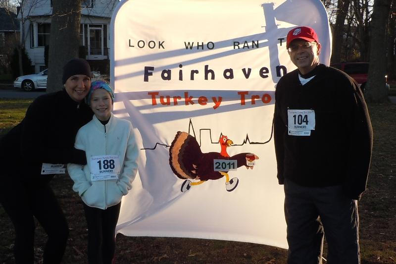 Fairhaven Turkey Trot Proud Sponsor!