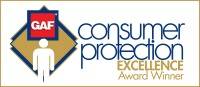 GAF Consumer Protection Excellence Award Winner