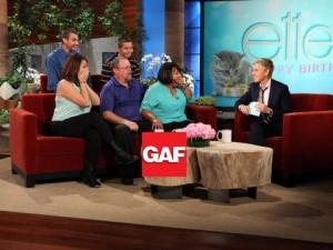 GAF on Ellen
