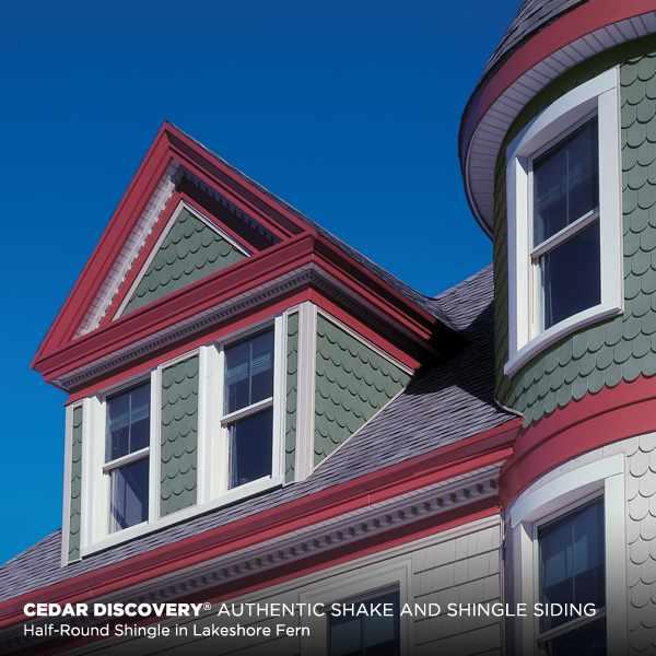 Cedar Discovery 174 Authentic Shake And Shingle Siding