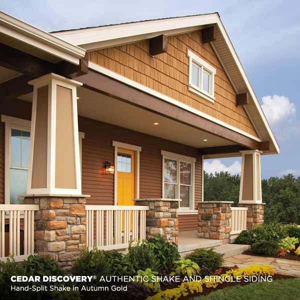 Cedar Discovery Shake Shingle Siding
