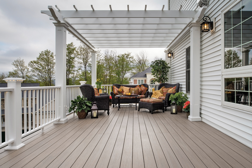 Azek Porch Is Made With The Same Unique And Proven Technology As Deck Boards This Long Lasting Flooring Will Stay Looking Great Little