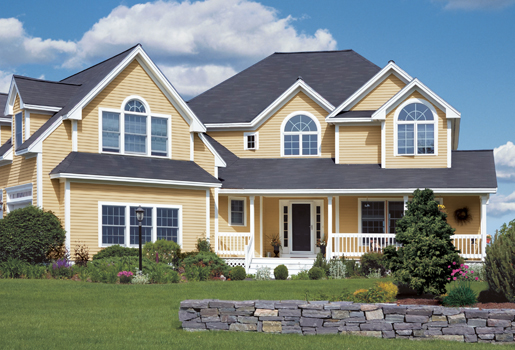Certainteed vinyl siding for Monogram homes
