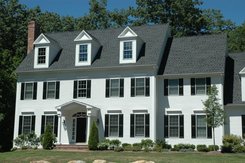 A Variety Of Home Siding Choices Are Offered Including