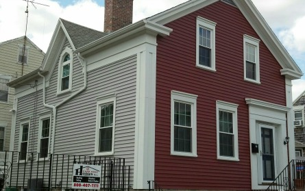 Siding Renovation – Greek Revival Home, New Bedford, MA