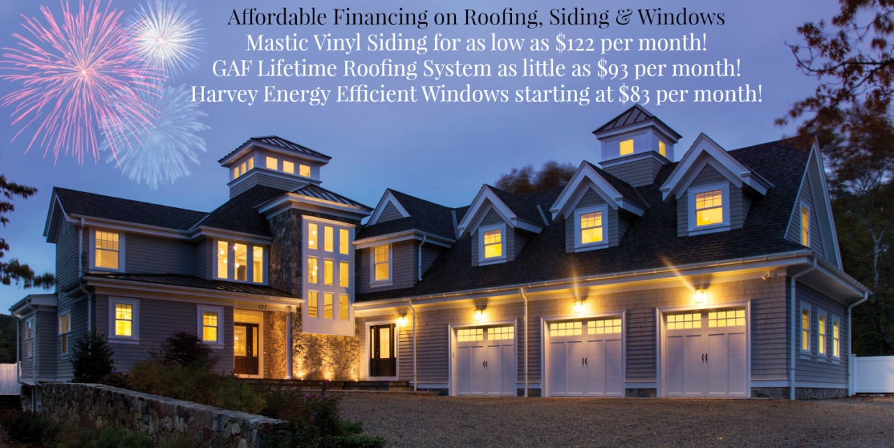 Affordable Financing On Roofing Siding Amp Windows