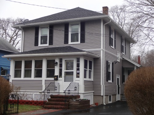 Before & After Vinyl Siding Fairhaven, MA