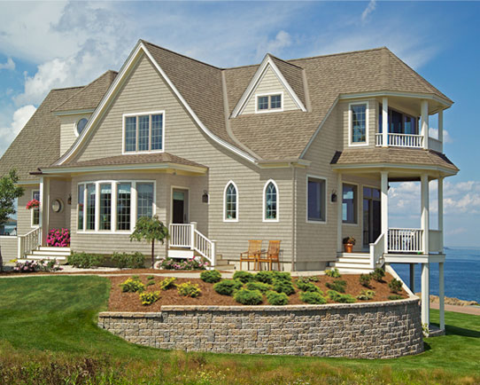 Top 3 house siding options contractor cape cod ma ri for Natural wood siding