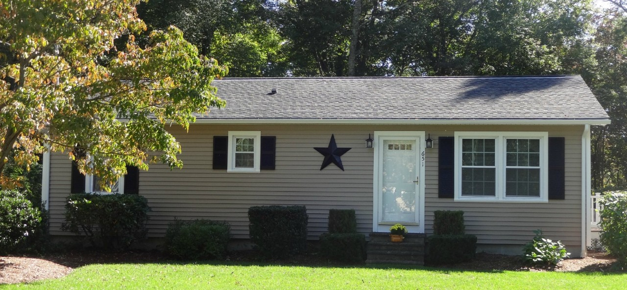 Vinyl Siding Ideas On Ranch Style Homes In Southeastern Ma