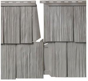 Mastic Hand Split Shake Grey Panel
