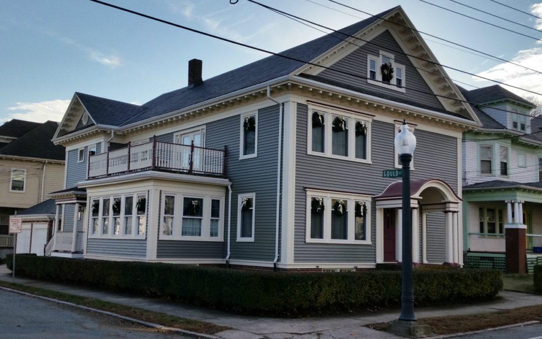 Historic Home Boasts Beautiful Siding Makeover, New Bedford, MA