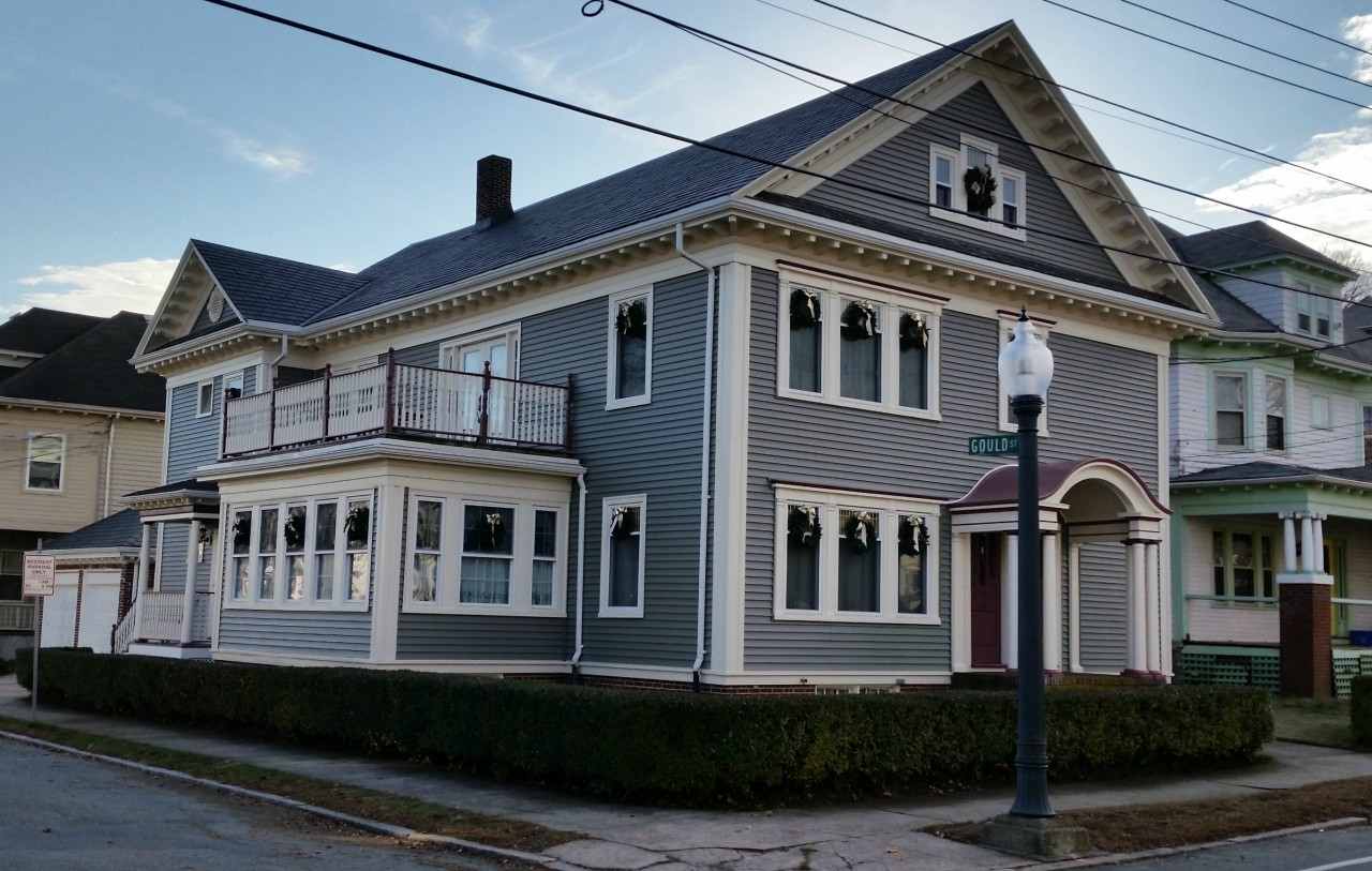 Historic Home Boasts Beautiful Siding Makeover New