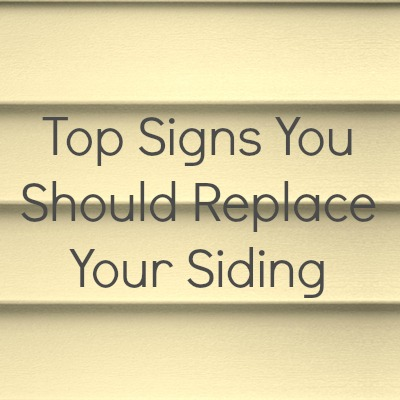 Signs You Should Replace Your Siding