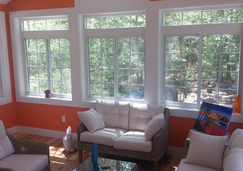 Project Spotlight: Sunroom Adds Light & Living Space in Assonet, MA