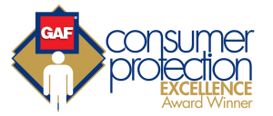 GAF Consumer Protection Excellence Award Logo