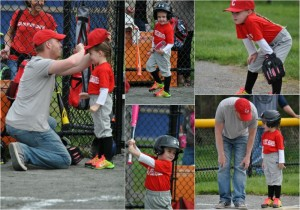 Care Free Homes T-Ball Collage