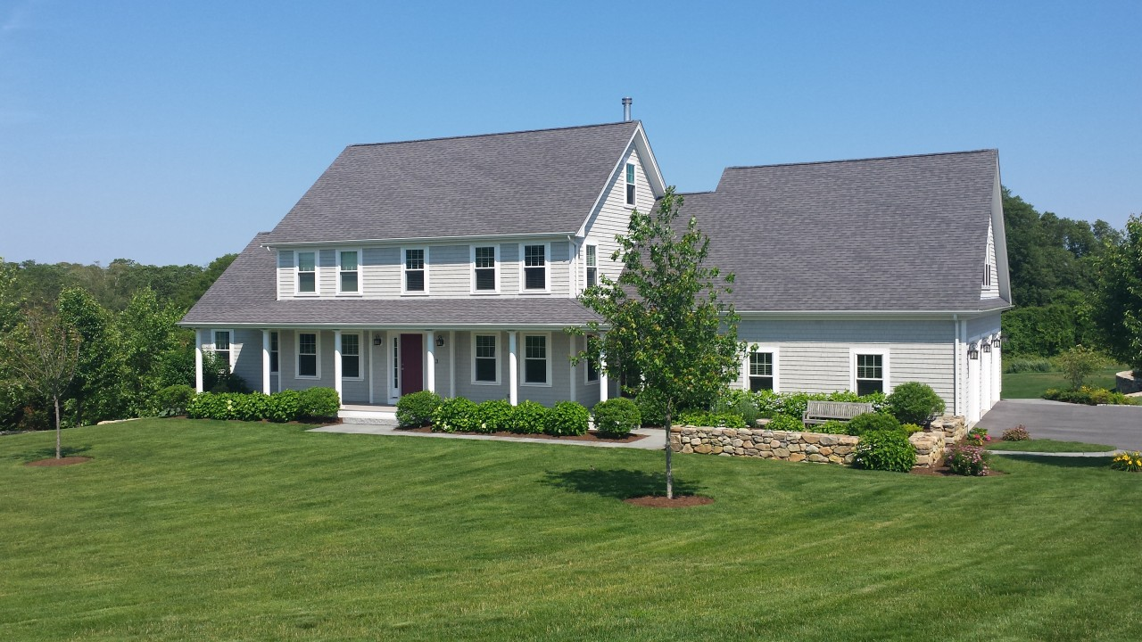 Project spotlight new construction home south dartmouth for Building a house in ma