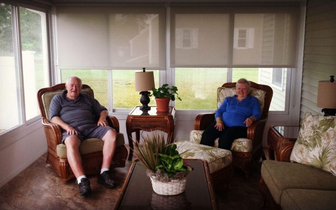 Customer Sunroom Testimonial, Little Compton, RI