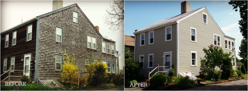 Project Spotlight New Mastic Vinyl Siding Harvey