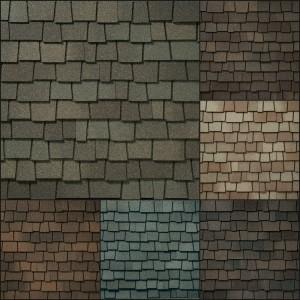 GAF Glenwood Roofing Shingle Colors