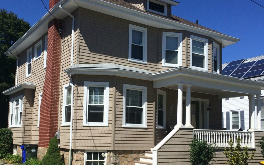 Homeowners Switch to Vinyl Siding in Fall River, MA