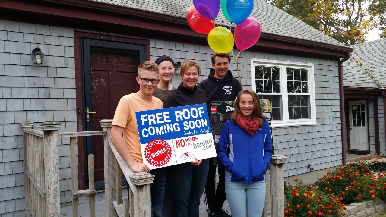 Press Release Fairhaven Mom Wins No Roof Left Behind
