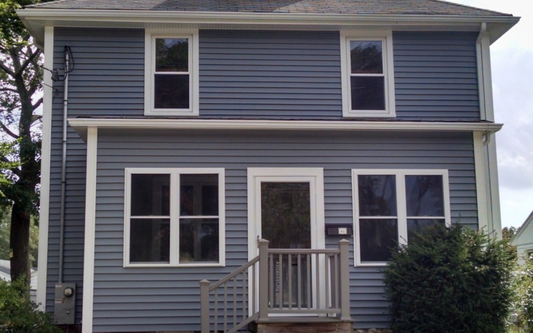 New Bedford Home Now Maintenance Free With Vinyl Siding