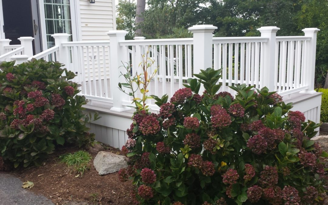 Project Spotlight: Custom Built AZEK Deck, New Bedford, MA