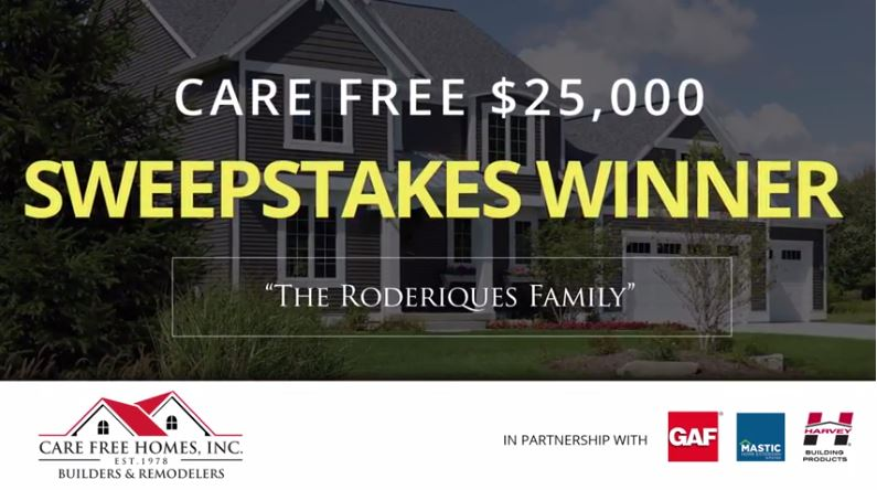 2015 Care Free $25,000 Home Makeover Winner Revealed!