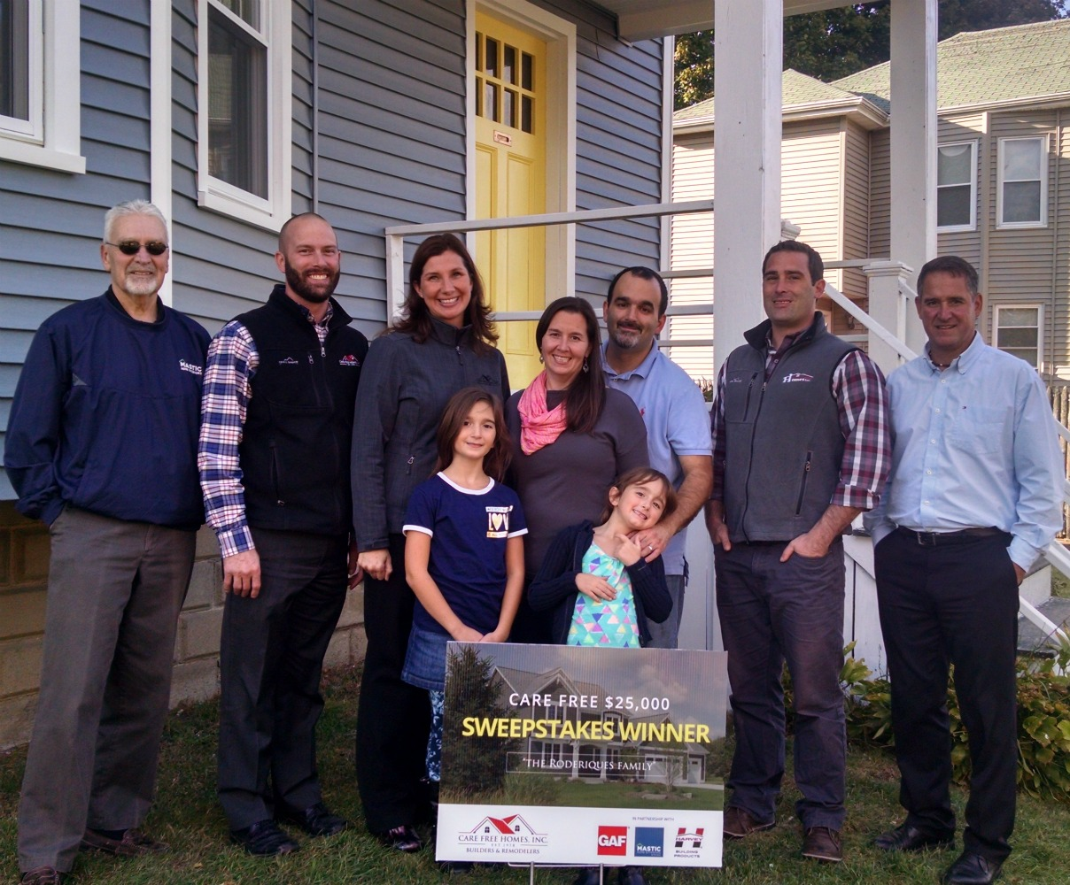 Fairhaven Ma Sweepstakes Winner Takes Home New Roofing
