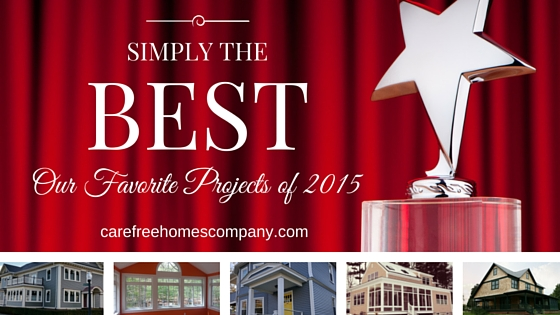 Simply the Best: Our Favorite Home Improvement and Construction Projects of 2015