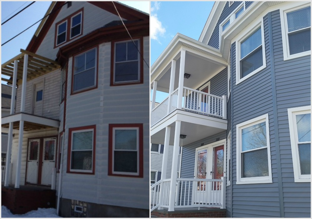 Project Spotlight Mastic Vinyl Siding Harvey Replacement