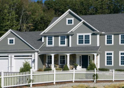 Mastic Vinyl Siding Colonial with Carvedwood and Cedar Discovery