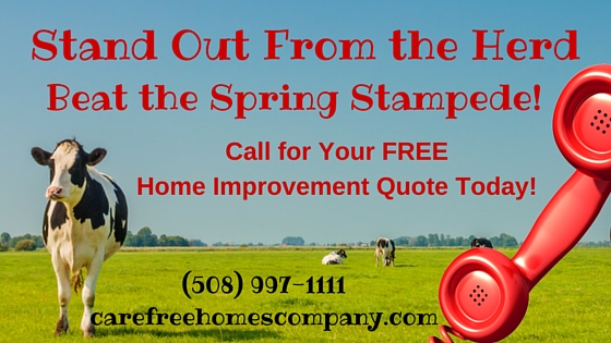 Beat the Spring Home Improvement Stampede!