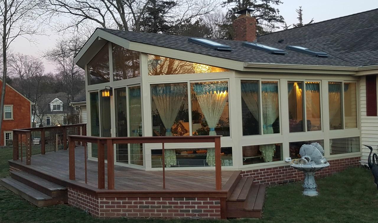 A Gaf Timberli Betterliving Sunroom Braintree Ma
