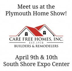 Visit us at the Plymouth Home Show April 9th and 10th!