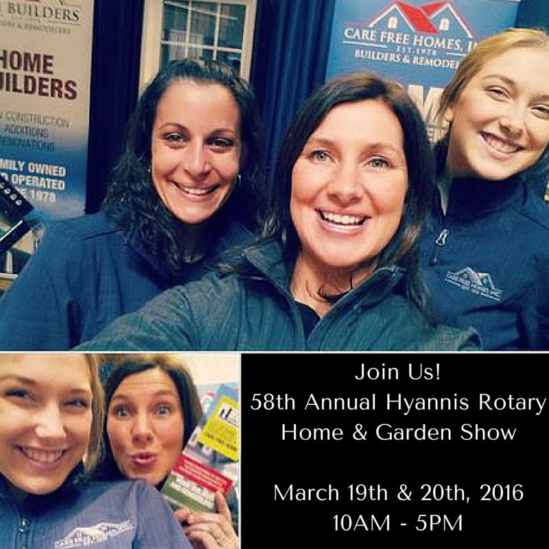 Join Us!58th Annual Hyannis Rotary Home & Garden Show