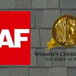 GAF Roofing Earns 2016 Women's Choice Award