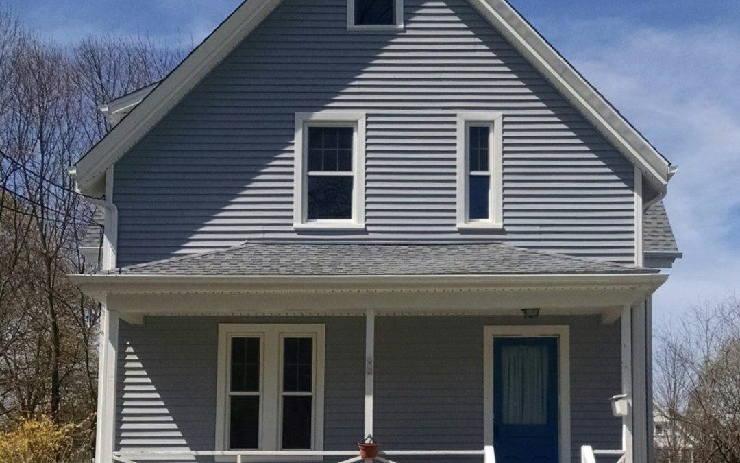 Whitman Ma Home Gets Roofing Siding Amp Windows