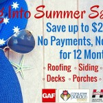 Spring Into Summer Savings!