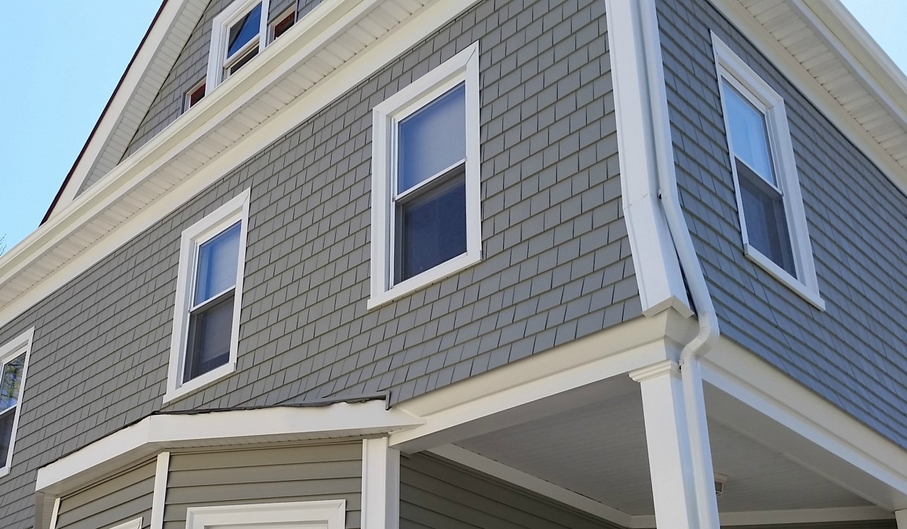 Mastic vinyl siding azek porch in new bedford ma for Best quality vinyl windows