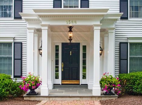 5 Portico Styles For Your Home Contractor Cape Cod Ma Ri