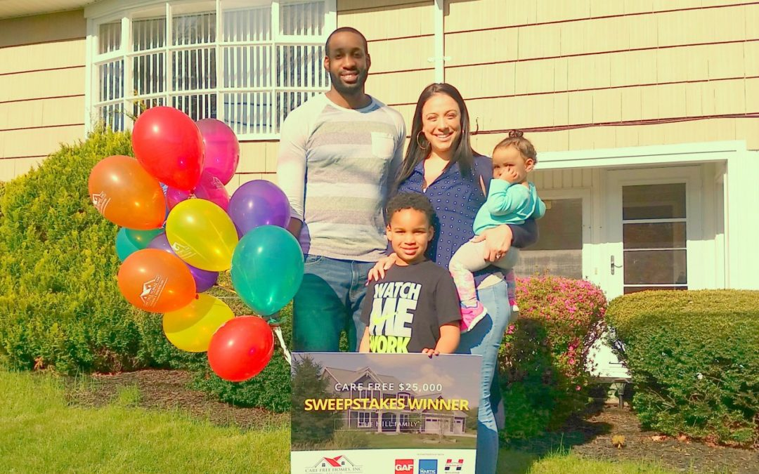 PRESS RELEASE: New Bedford Teacher Wins $25,000 Home Makeover