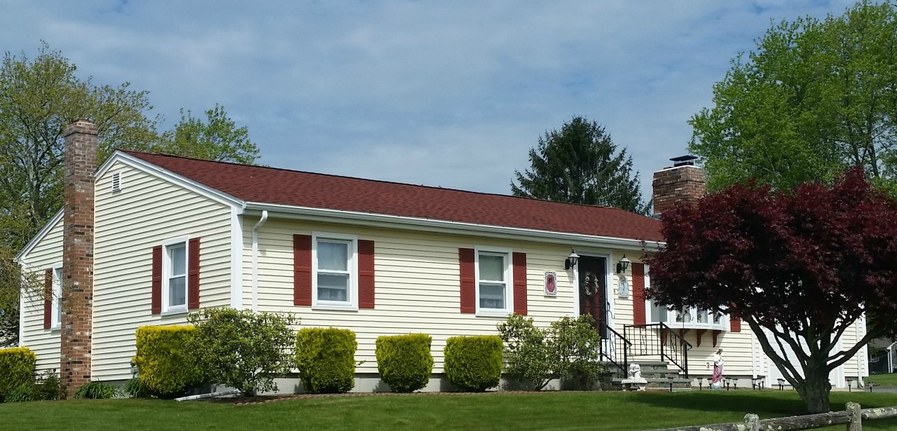Gaf Roofing System In Patriot Red Dartmouth Ma